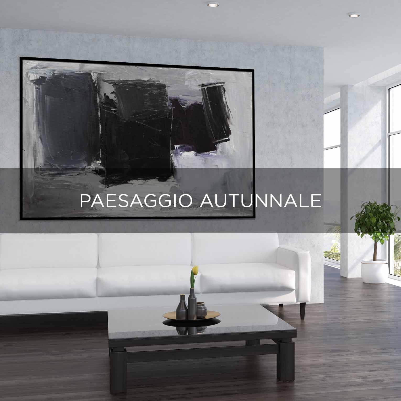 PAESAGGIO AUTUNNALE - QBX DESIGN QUADRO D'ARREDO PER IL SETTORE LUXORY