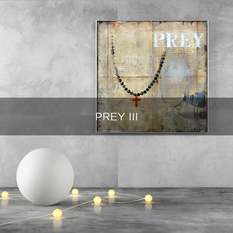 PREY III - QBX DESIGN QUADRO D'ARREDO PER IL SETTORE LUXORY