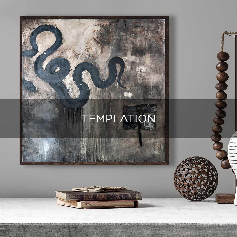 TEMPLATION - QBX DESIGN QUADRO D'ARREDO PER IL SETTORE LUXORY