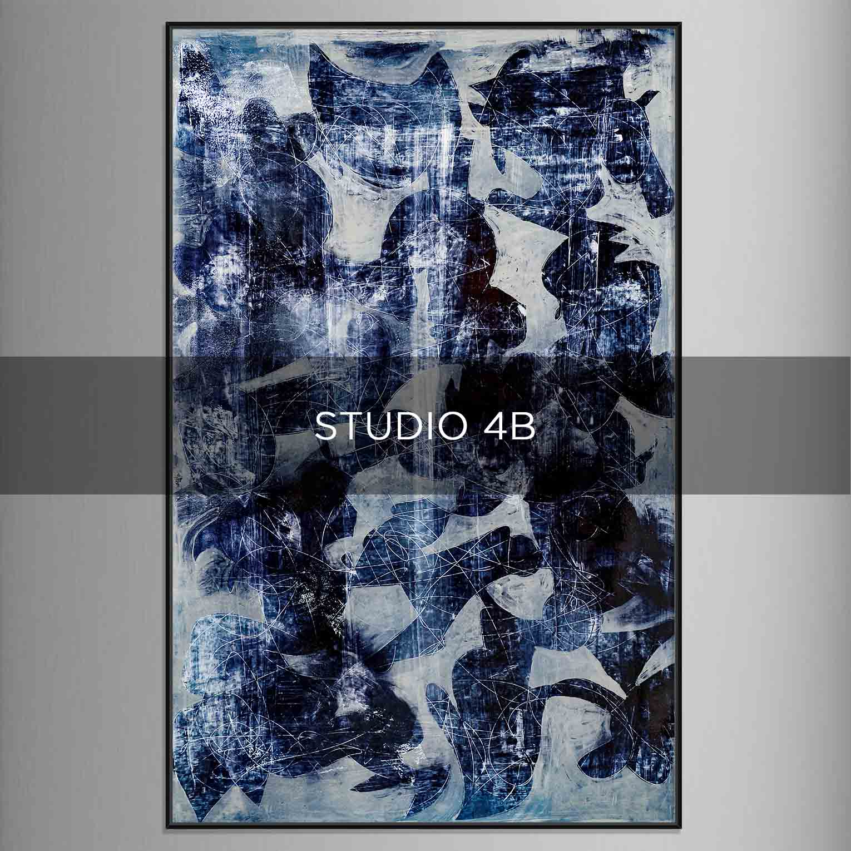 STUDIO 4B - QBX DESIGN QUADRI ASTRATTI