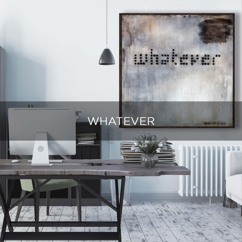 WHATEVER - QBX DESIGN QUADRO D'ARREDO PER IL SETTORE LUXORY