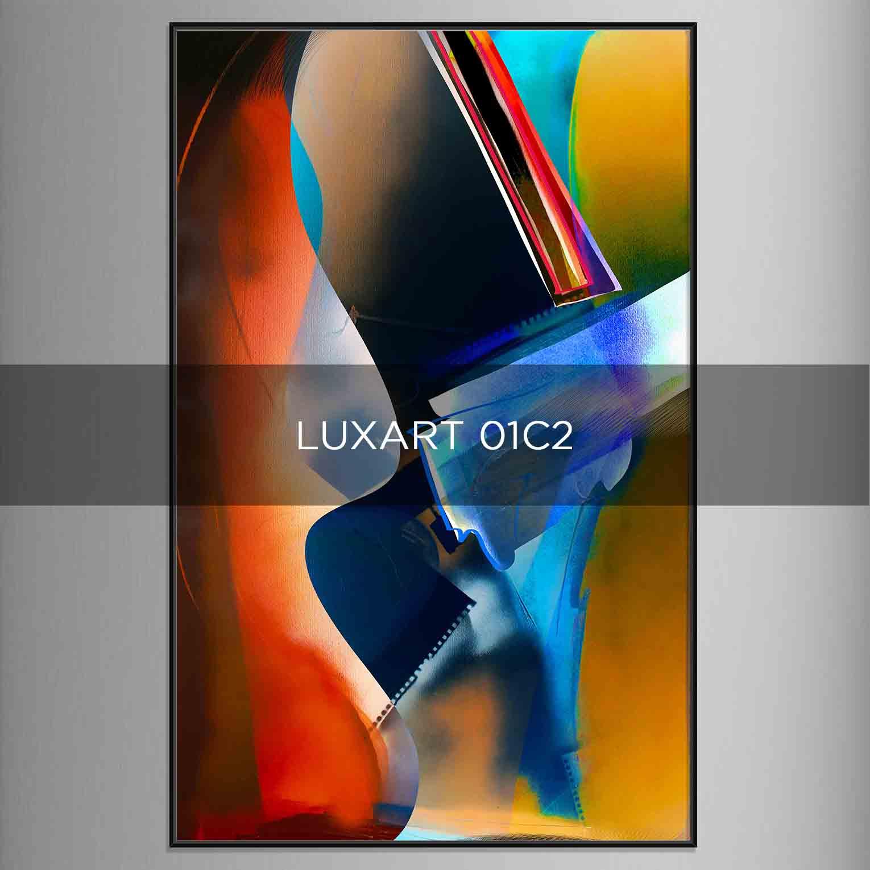LUXART 01C2 - QBX DESIGN QUADRI ASTRATTI