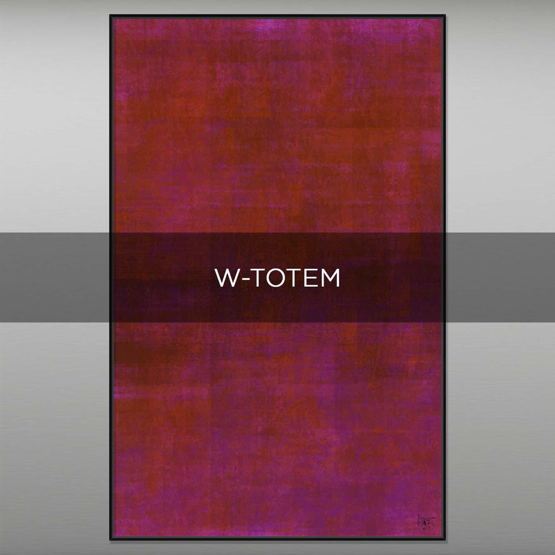 W-TOTEM - QBX DESIGN QUADRI ASTRATTI